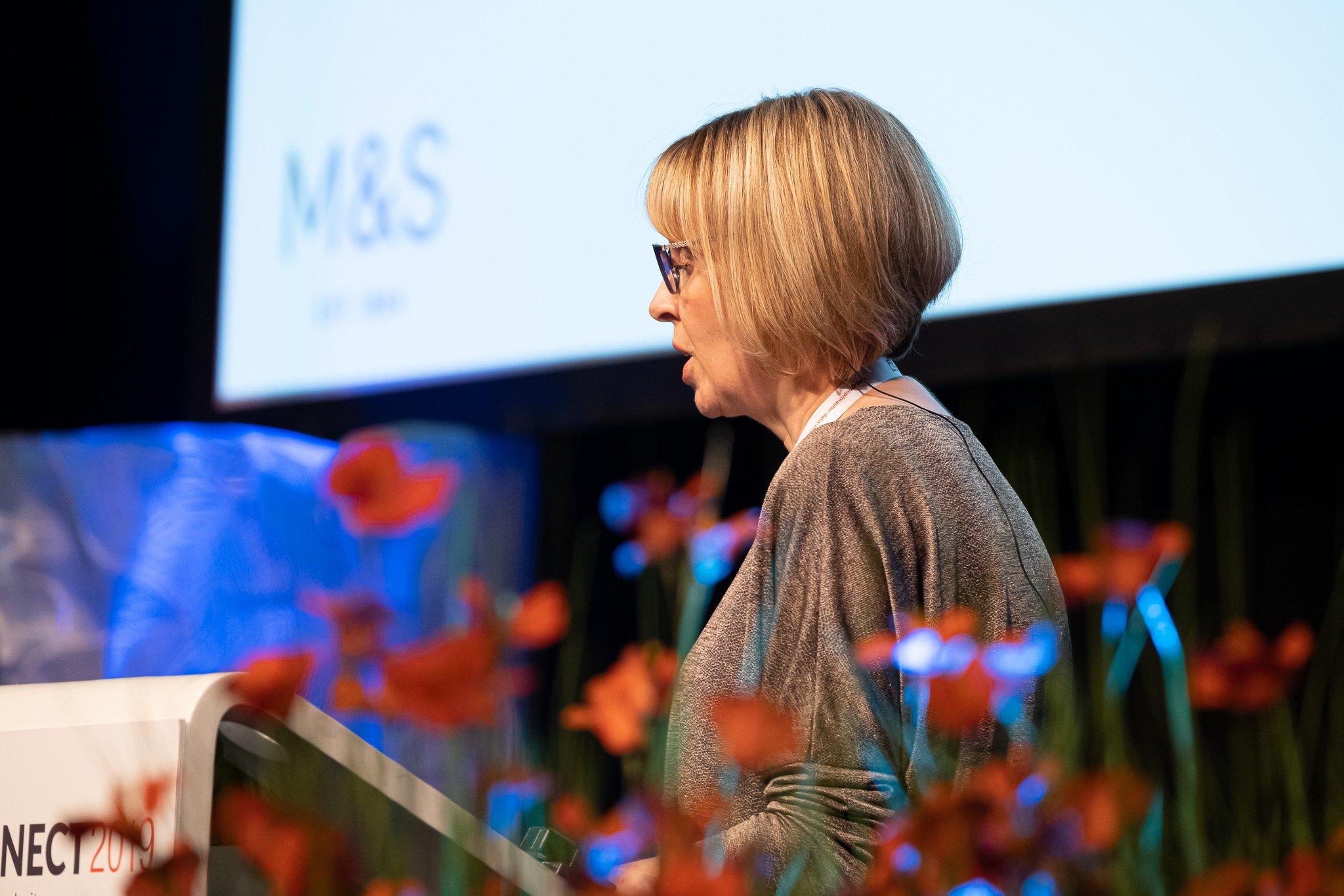 Rebecca Chamberlain from M&S