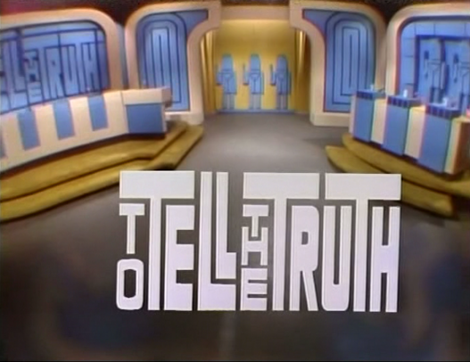 To Tell the Truth Game Show Master Data Management