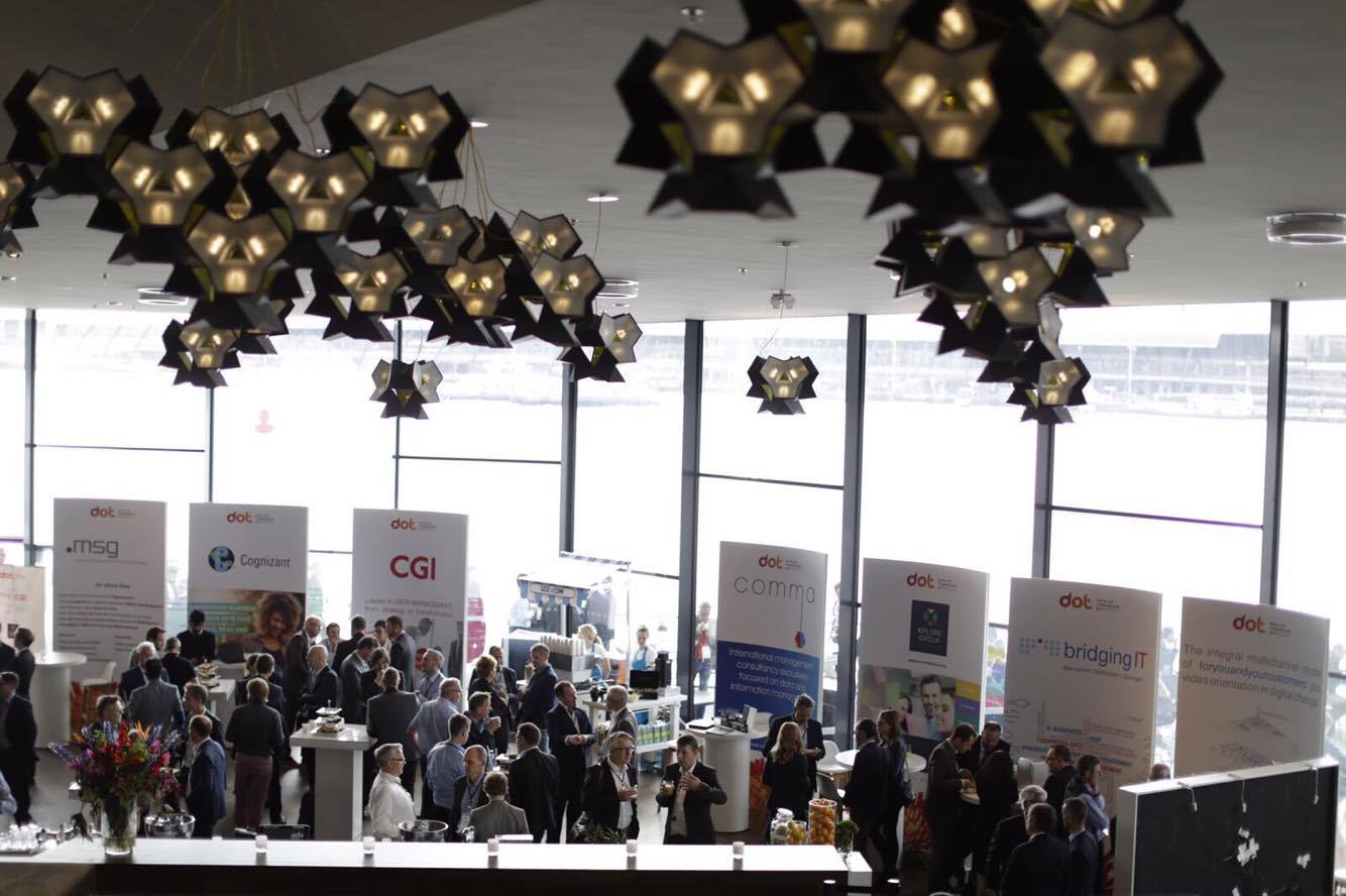 Expo area - Data of Tomorrow conference