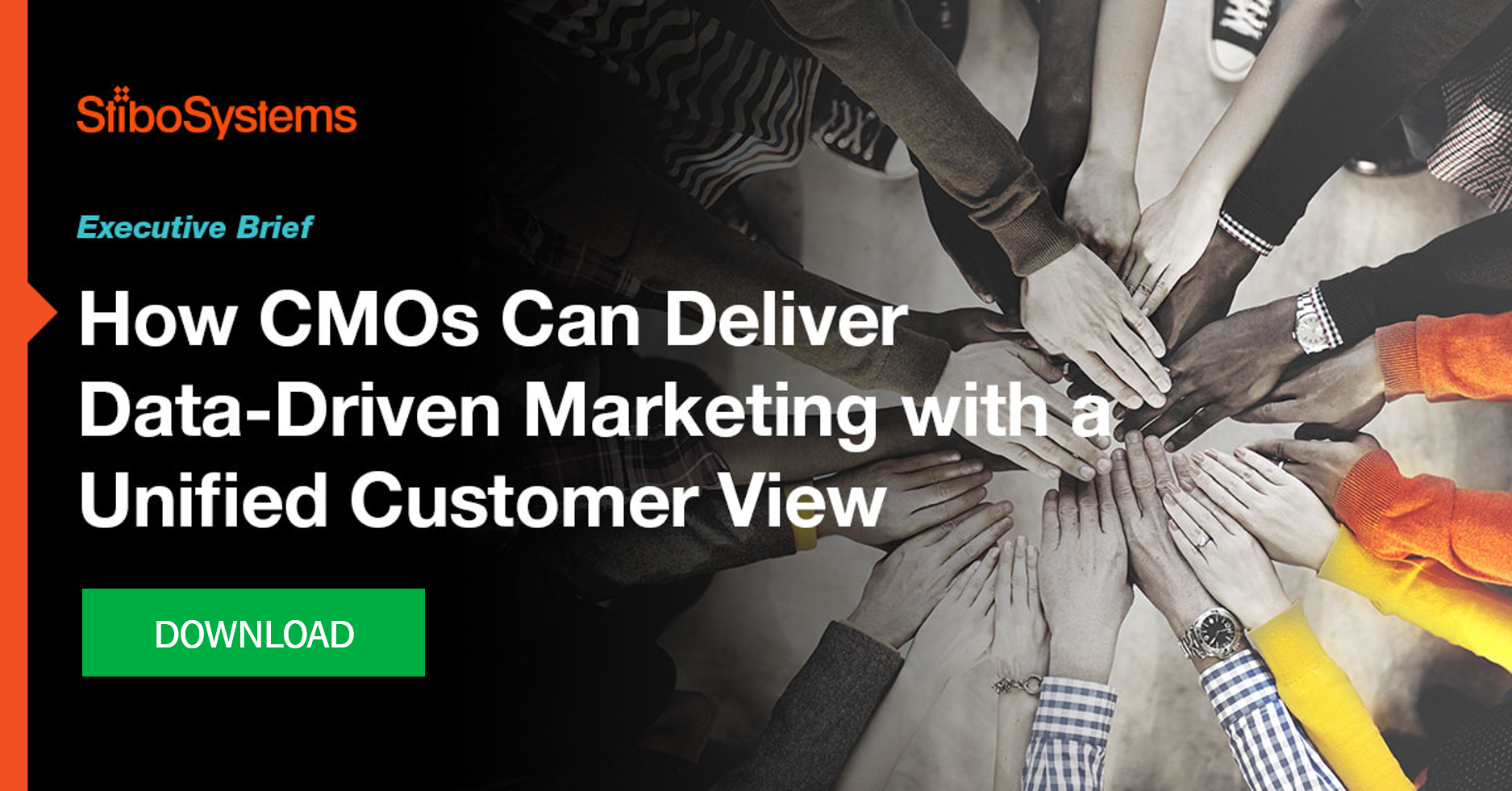 Executive brief: How CMOs can deliver data-driven marketing with a unified customer view